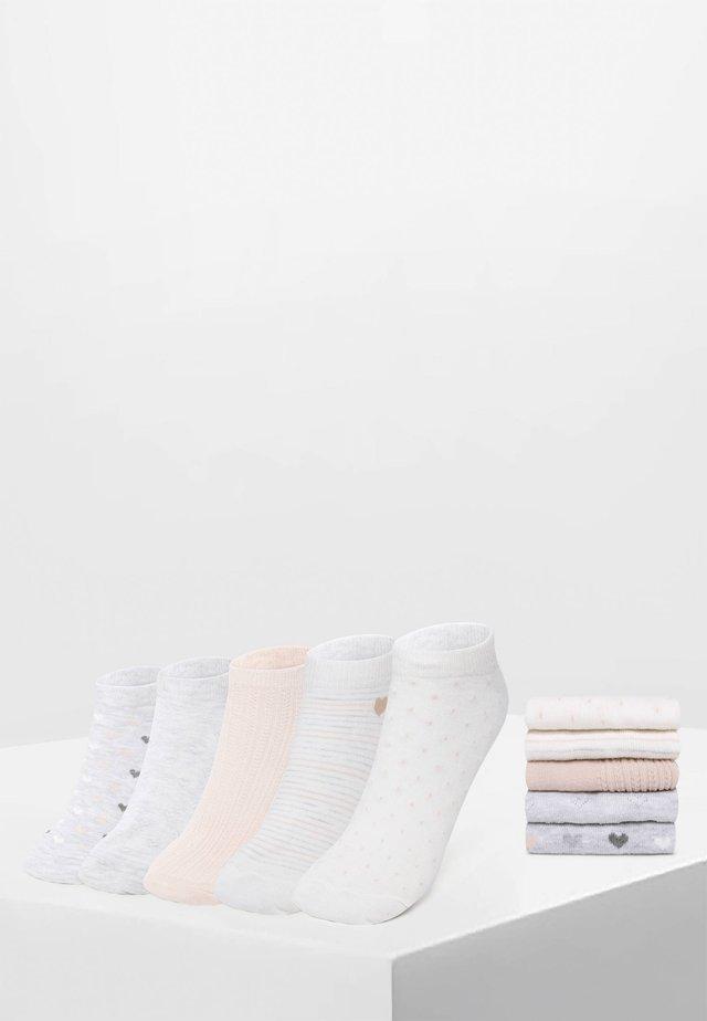 5 PACK - Socquettes - white