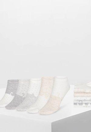5 PAAR SOCKEN MIT TIERPRINT 32651488 - Ponožky - multi-coloured