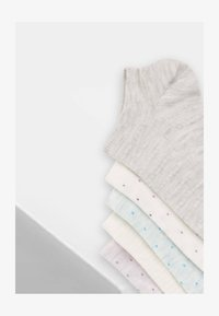 OYSHO - 5 PAIRS - Socks - light grey - 6