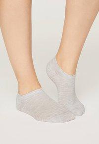 OYSHO - 5 PAIRS - Socks - light grey - 1