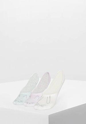 3 PAIRS - Sportovní ponožky - light grey