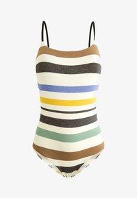 OYSHO - MIT STREIFEN - Swimsuit - off-white - 5