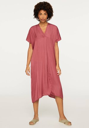 SATINIERTE TUNIKA IN MIDILÄNGE 30133117 - Day dress - rose