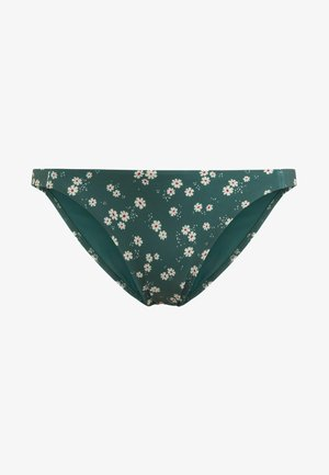 MIT BLÜMCHENPRINT  - Bikini bottoms - green