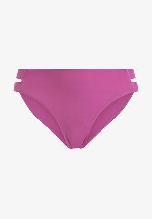 MIT SEITLICHEN BANDDETAILS  - Bikinibroekje - rose