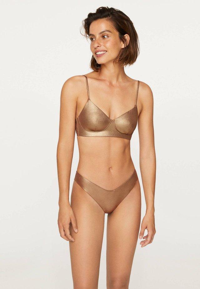 Bikini pezzo sotto - gold