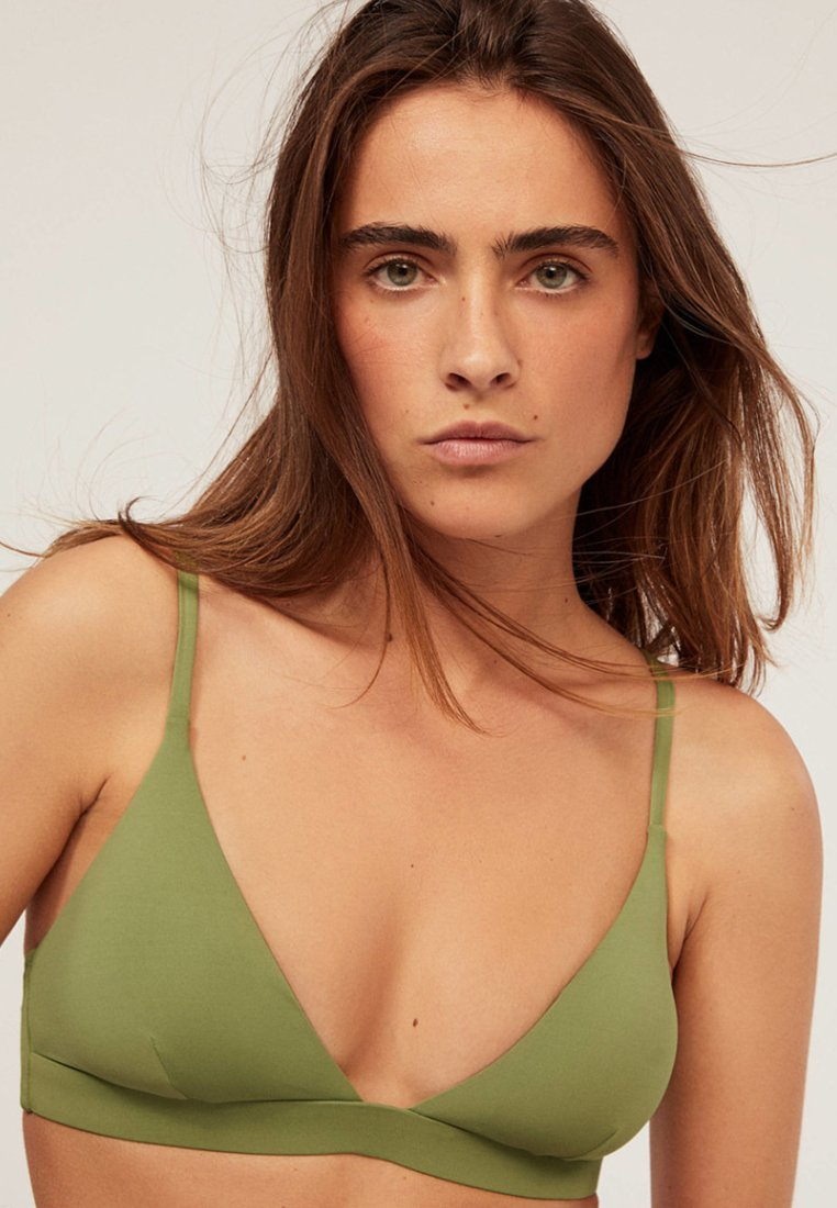 OYSHO - JOIN LIFE - Bikini top - green