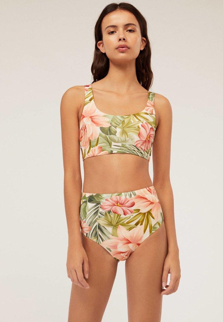 OYSHO - JOIN LIFE - Bikini-Top - multi-coloured
