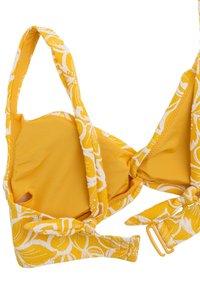 OYSHO - Bikinitop - yellow - 5