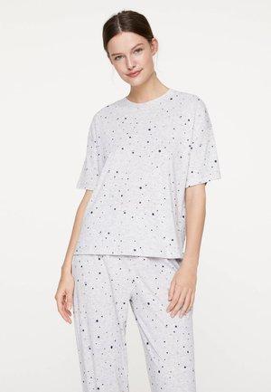 MIT STERNCHEN 30442084 - Haut de pyjama - light grey