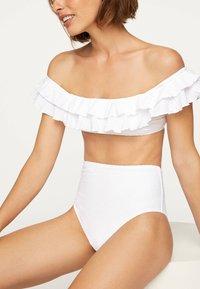 OYSHO - Bikinitop - white - 3