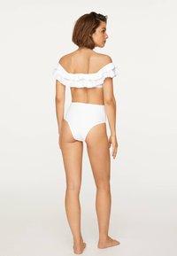 OYSHO - Bikinitop - white - 1