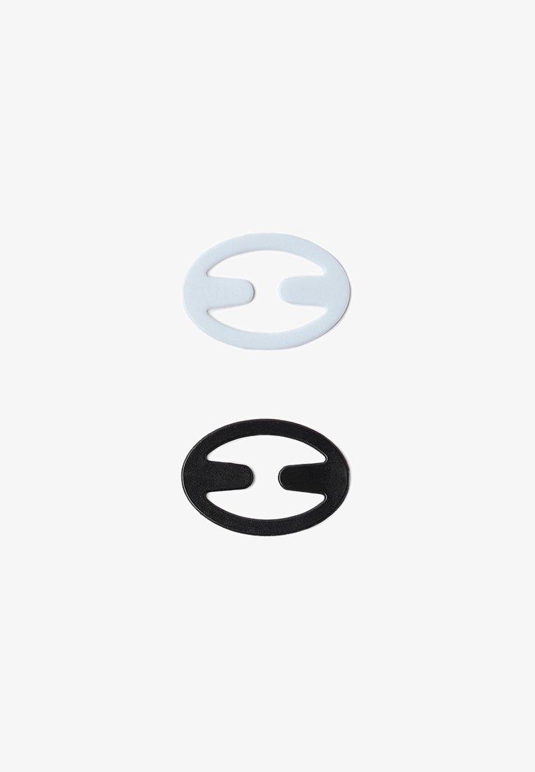 OYSHO - CLIP FÜR SCHWIMMERRÜCKEN - Accessoires - black/white