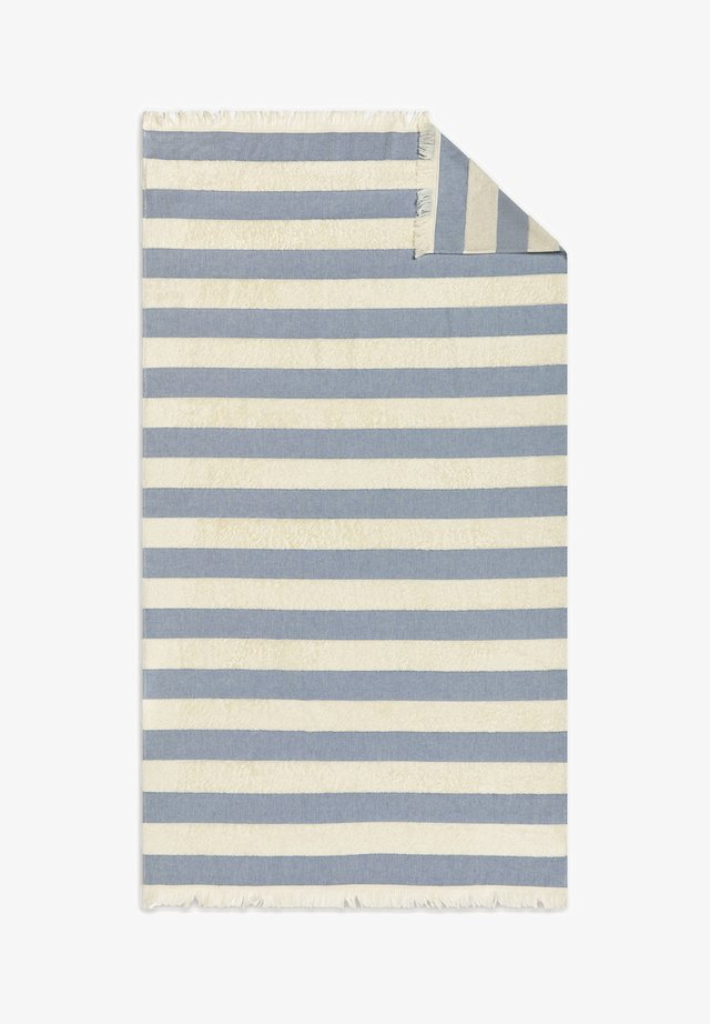 STRIPED - Serviette de plage - white