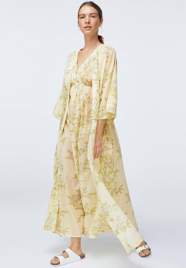 Peignoir - yellow