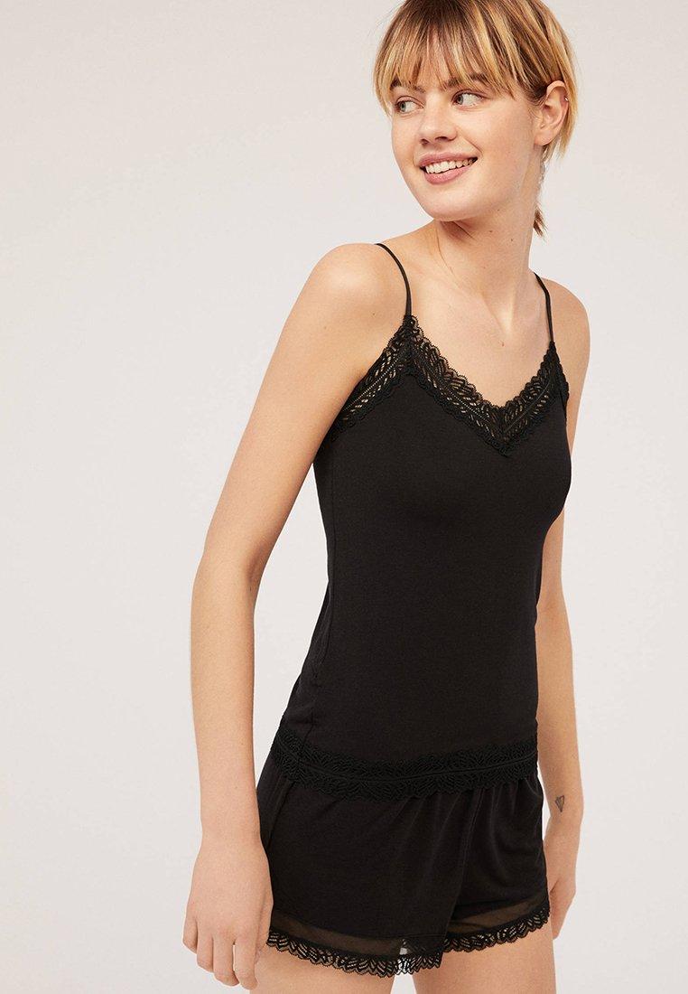 OYSHO - Pyjama bottoms - black
