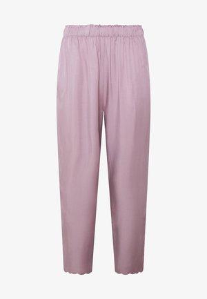 MIT MUSCHELSAUM - Pyjama bottoms - mauve