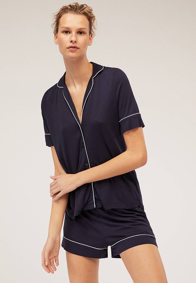 OYSHO - Pyjama bottoms - dark blue