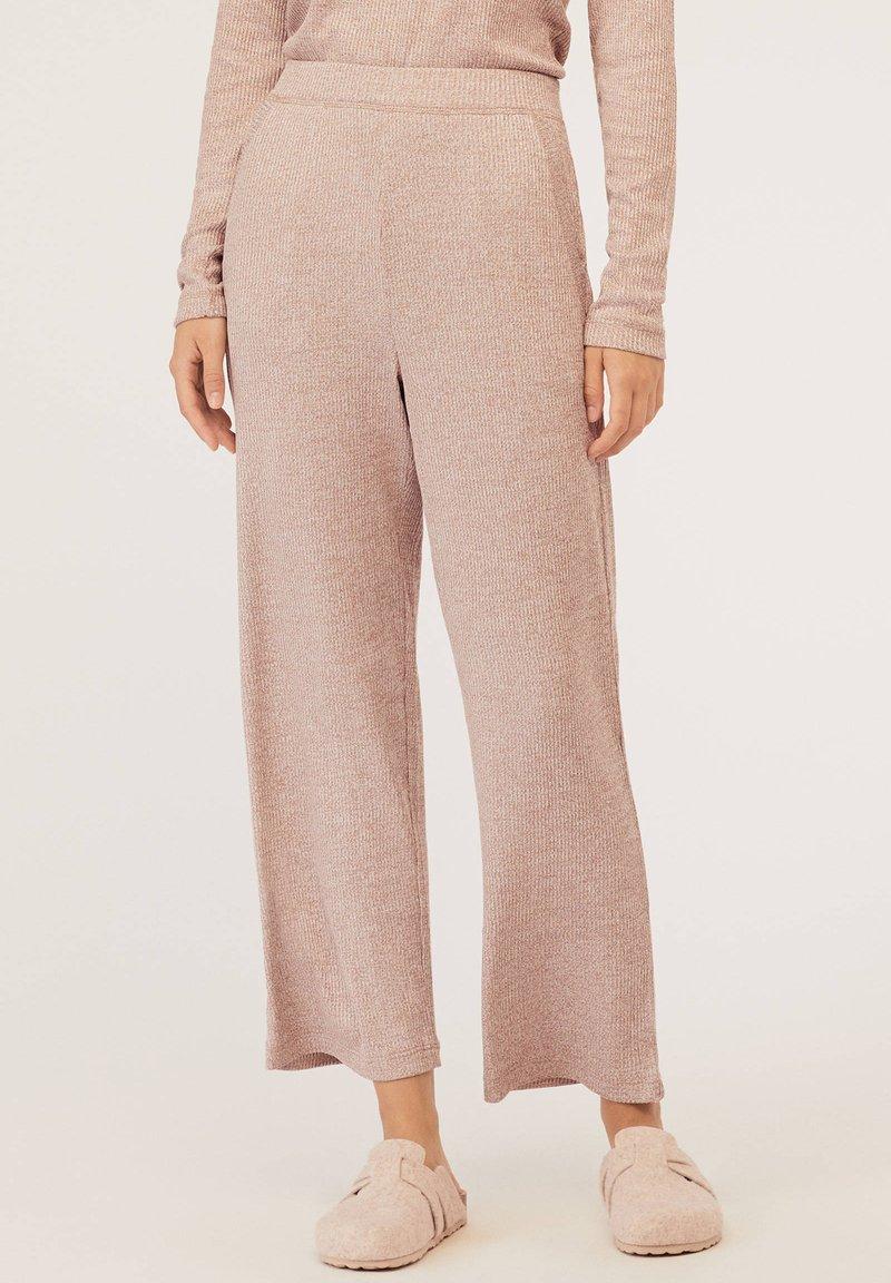 OYSHO - Bas de pyjama - beige