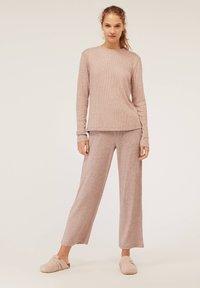 OYSHO - Bas de pyjama - beige - 1