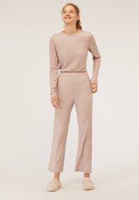 OYSHO - Bas de pyjama - beige - 3