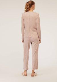 OYSHO - Bas de pyjama - beige - 2