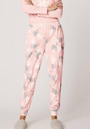 MIT MÄUSEN MIT ZAUBERSTAB - Pantaloni del pigiama - rose