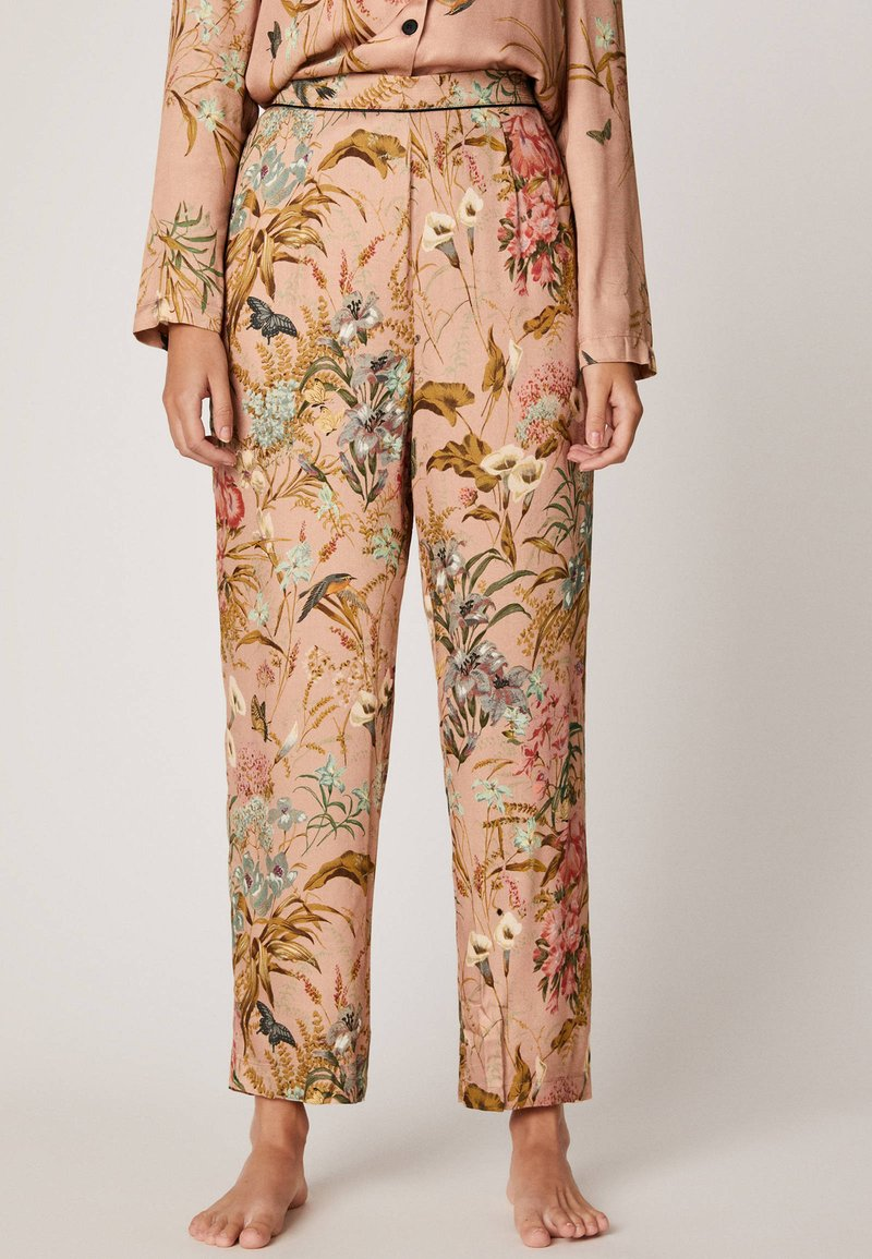OYSHO - MIT FLORALEM  - Pyjama bottoms - multi-coloured