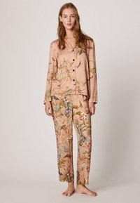 OYSHO - MIT FLORALEM  - Pyjama bottoms - multi-coloured - 1