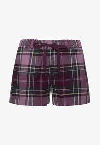 OYSHO - MIT KAROS - Pantaloni del pigiama - dark purple - 5