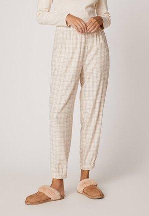 MIT KAROS - Bas de pyjama - beige