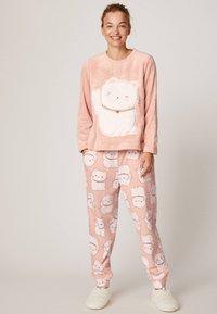 OYSHO - LUCKY CAT - Pantaloni del pigiama - rose - 1