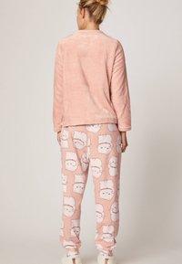 OYSHO - LUCKY CAT - Pantaloni del pigiama - rose - 2