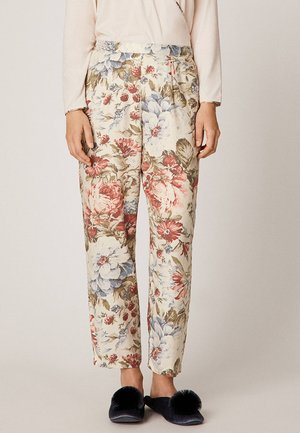 MIT BLUMENPRINT  - Pyjama bottoms - multi-coloured