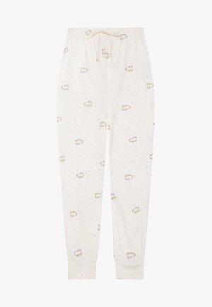 MIT EINHORNPRINT  - Pantaloni del pigiama - white