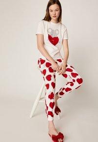 OYSHO - Bas de pyjama - white - 1