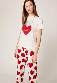 OYSHO - Bas de pyjama - white - 3