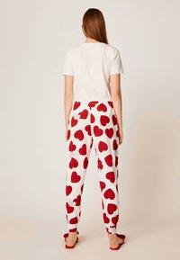 OYSHO - Bas de pyjama - white - 2