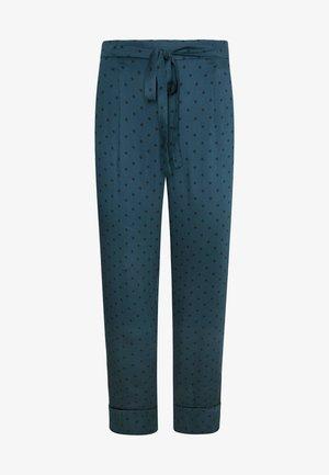 MIT PUNKTEN - Pyjama bottoms - blue