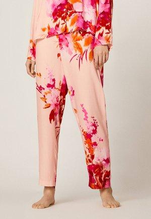 MIT ROSA BLUMEN - Pyjama bottoms - light pink