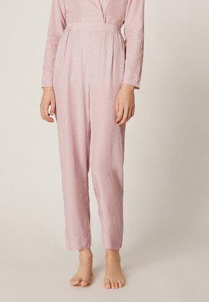 MIT FLECKENPRINT - Bas de pyjama - pink