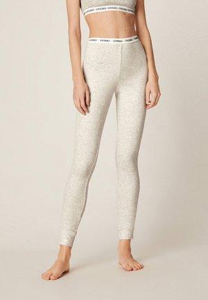 MIT LOGO-BUND  - Pyjamabroek - light grey