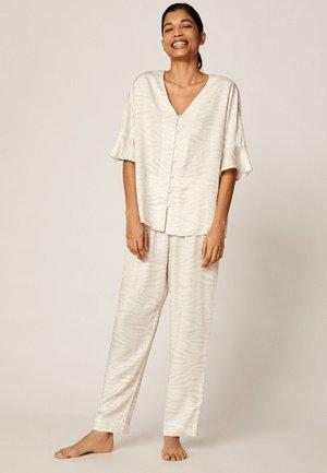 ZEBRA PRINT TROUSERS 30312826 - Pyjamabroek - beige
