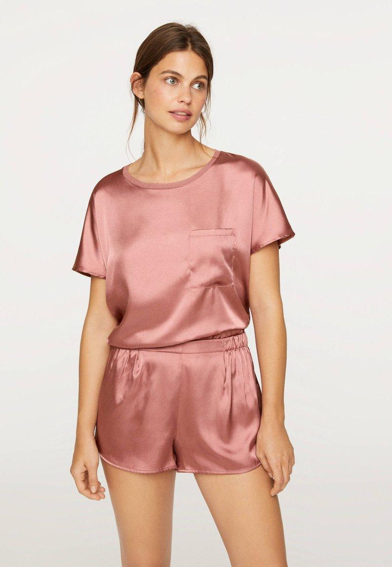 OYSHO - Pantaloni del pigiama - mauve