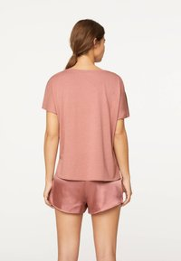 OYSHO - Pantaloni del pigiama - mauve - 2