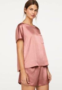 OYSHO - Pantaloni del pigiama - mauve - 3