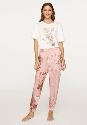 SWAN - Pyjama bottoms - rose