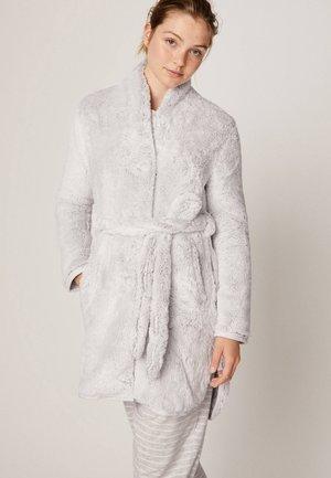 Dressing gown - light grey