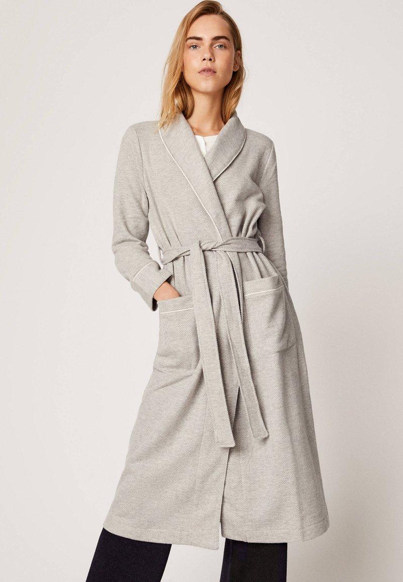 OYSHO - Dressing gown - light grey