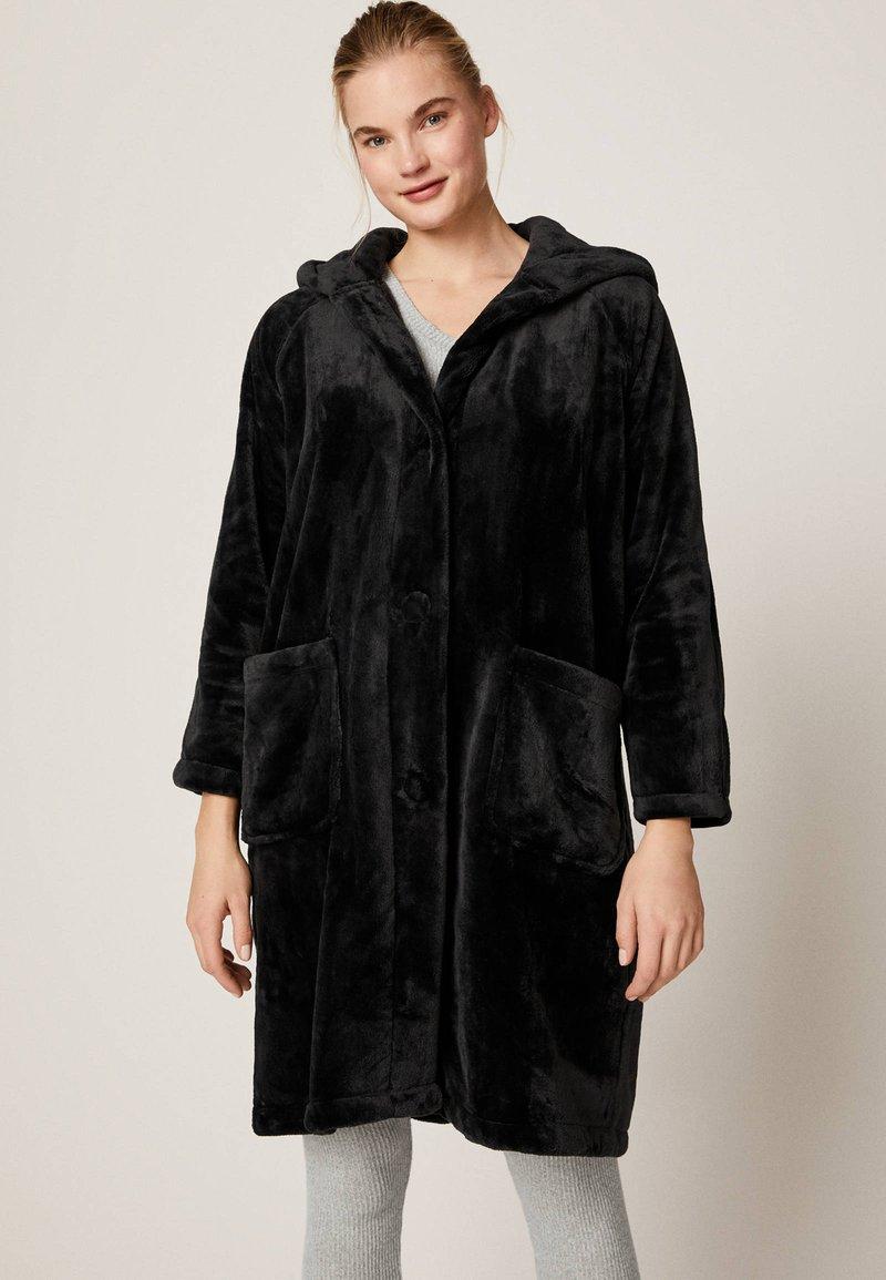 OYSHO - Dressing gown - black